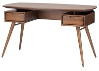 Carel Desk Table Walnut