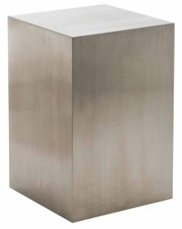 Toledo Pedestal Table Silver