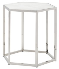 Hexion Side Table White