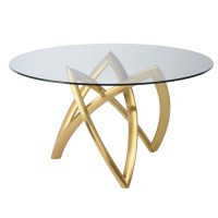 Martina Dining Table Clear