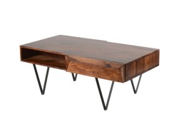 Matrix Coffee Table – Sheesham Rosewood