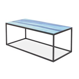 Indigo Glass Coffee Table – Seaside