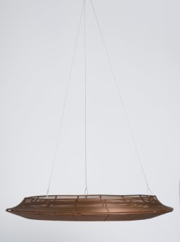 Earth Wind Fire Hanging Basket – Set of Three Copper