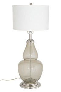 Charm Ebony Table Lamp