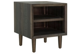 Merchant End Table – Smoked Grey
