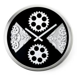 Industry Section Gear Wall Clock