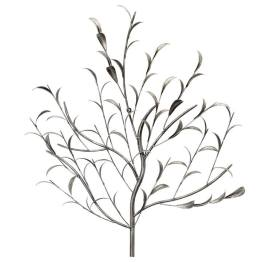 Leafy Branch 30×32″h Metal Wall Decor
