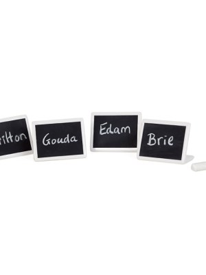 Circ Chalkboard Cheese Markers, Set of Four