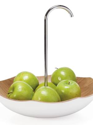 Kento Whimsical Umbrella Wooden Fruit Bowl