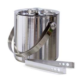 Linear Ice Bucket with Tongs