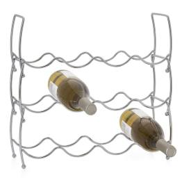 Bow Set of Three Stacking 12 Bottle Wine Rack