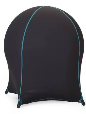 Neo Covered Ball Chair – Black