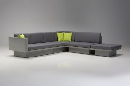 Onza LSF Sectional Porcini Fabric