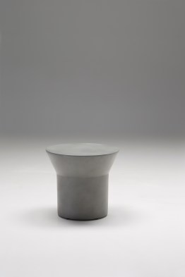 Axel End Table Polished Stainless Steel