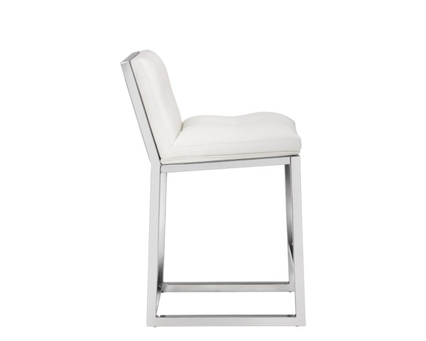 ALBA COUNTER STOOL – WHITE