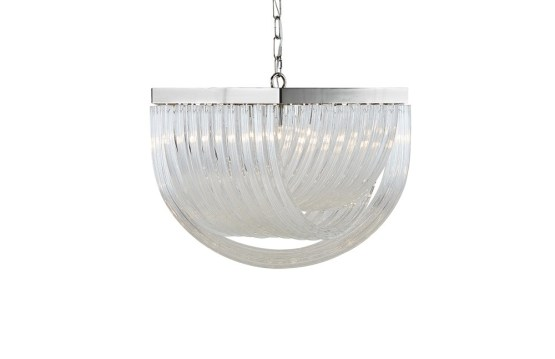 CURIE – CHANDELIER – SMALL – CLEAR GLASS