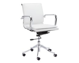 MORGAN FULL BACK OFFICE CHAIR – SNOW