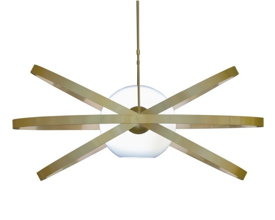 COSMOS CEILING LIGHT – BRASS PLATED