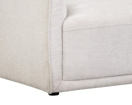 HEMSWORTH SECTIONAL – CHARLESTON BEIGE FABRIC