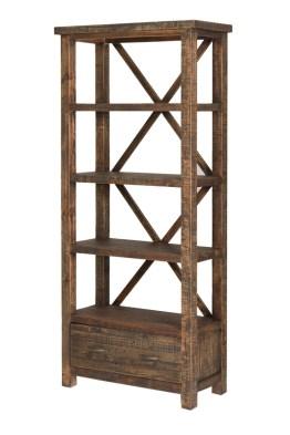 Alfresco Bookshelf – Smokey Brown