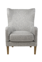 Bolton Club Chair – Tweed Linen