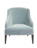Brandi Club Chair – Light Blue Velvet