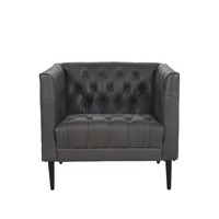 Williams Club Chair – Pure Dye Graphite