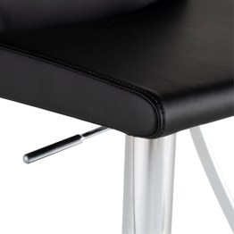 SWING ADJUSTABLE STOOL BLACK
