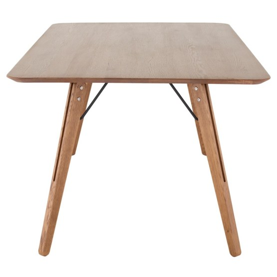 THEO DINING TABLE HARD FUMED