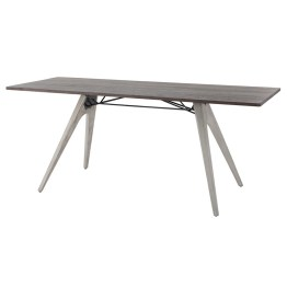 KAHN DINING TABLE SEARED