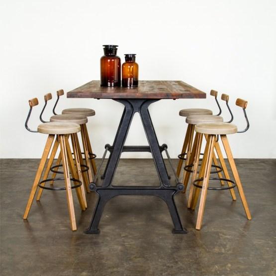 SALK DINING TABLE BLACK