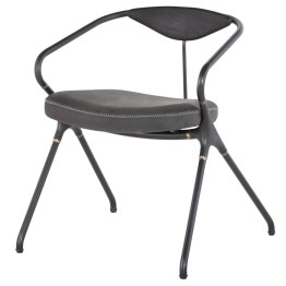 AKRON DINING CHAIR STORM BLACK