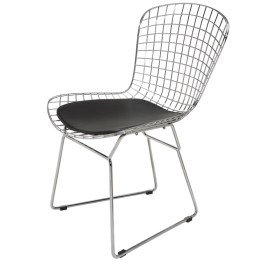 WIREBACK DINING CHAIR BLACK
