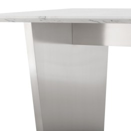 AIDEN DINING TABLE WHITE