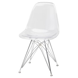 STYLUS DINING CHAIR CLEAR