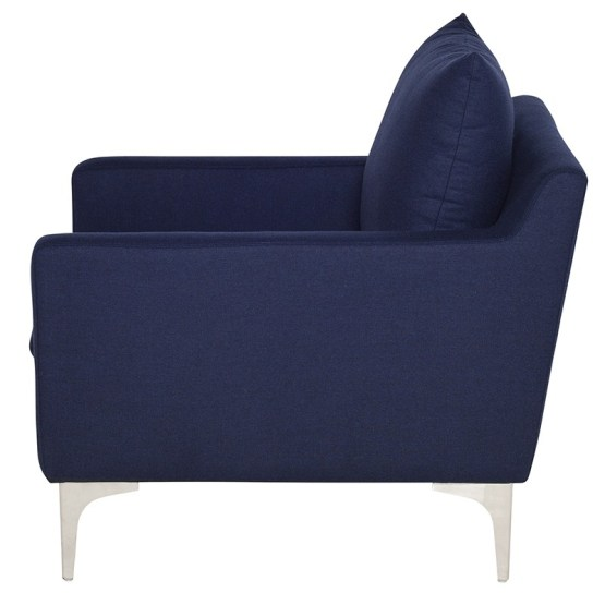 ANDERS OCCASIONAL CHAIR NAVY BLUE