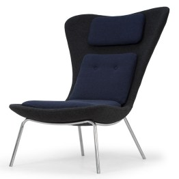 BARLOW OCCASIONAL CHAIR OXFORD BLUE