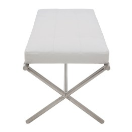 AUGUSTE BENCH WHITE