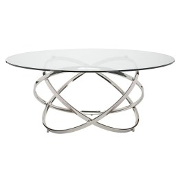 INFINITY DINING TABLE CLEAR