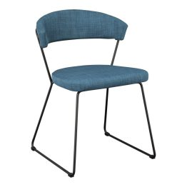 Adria Dining Chair Blue-m2