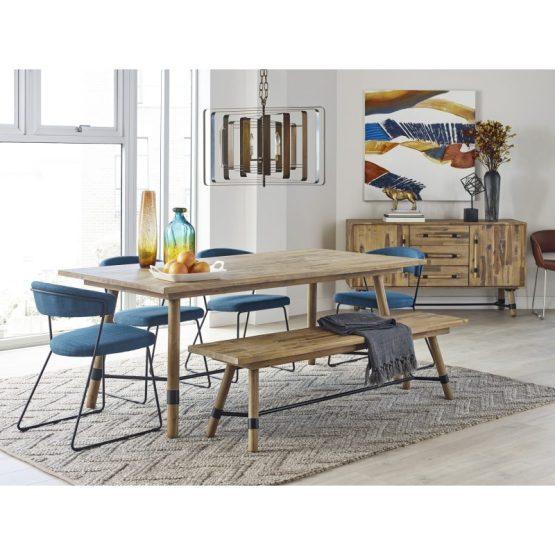 Adria Dining Chair Blue-m2