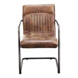 Ansel Arm Chair Light Brown-m2