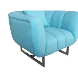 Butler Arm Chair Aqua