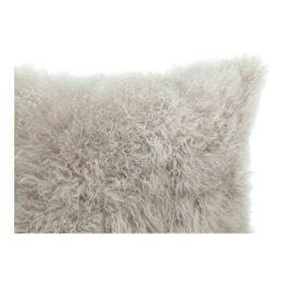 Cashmere Fur Pillow Light Grey