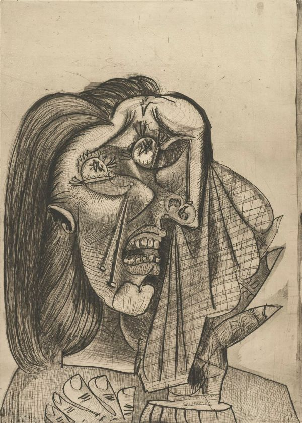 Pablo Picasso Weeping Woman