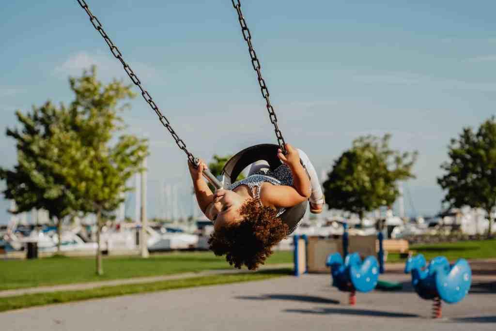 Take your preschooler to a park
