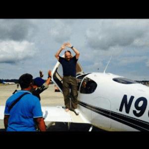 Pilot Pesawat N96706 Letkol Laut US NAVY J.P Murphy tak Berkutik kala diamankan di Kota Tarakan.