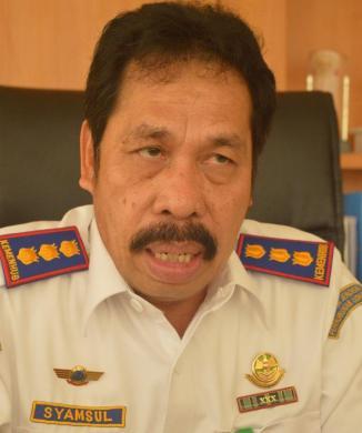 Kepala Bandara Juwata Tarakan. Syamsul Bandri