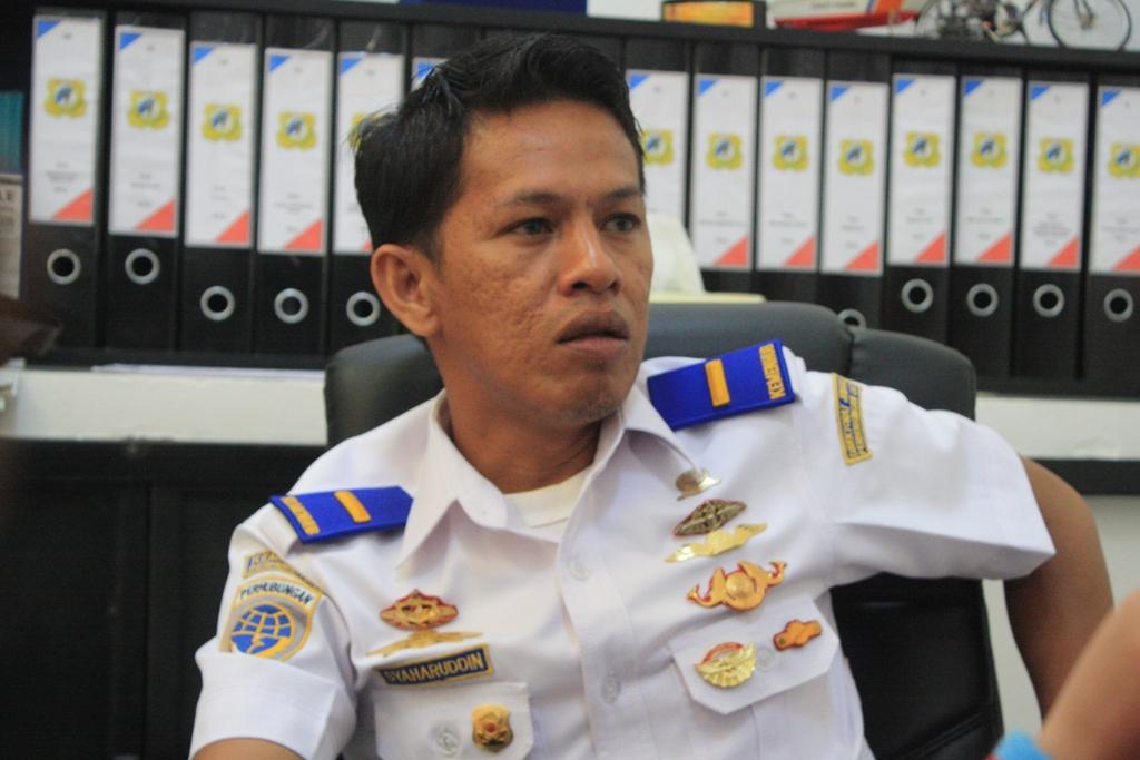 Komandan Patroli KSOP Tarakan Syahruddin