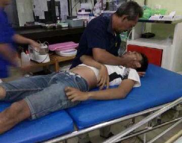 Pangga Bowo Laksono (21) meninggal dunia akibat terkena listrik yang menyangkut benang layang-layangnya.